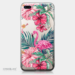Apple iPhone 8 Plus case Tropical Flamingo 2239 | CASEiLIKE.com
