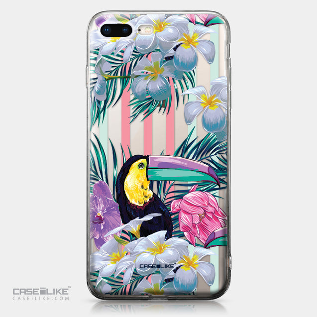 Apple iPhone 8 Plus case Tropical Floral 2240 | CASEiLIKE.com