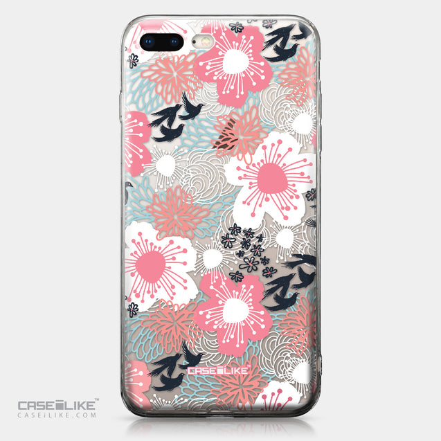 Apple iPhone 8 Plus case Japanese Floral 2255 | CASEiLIKE.com