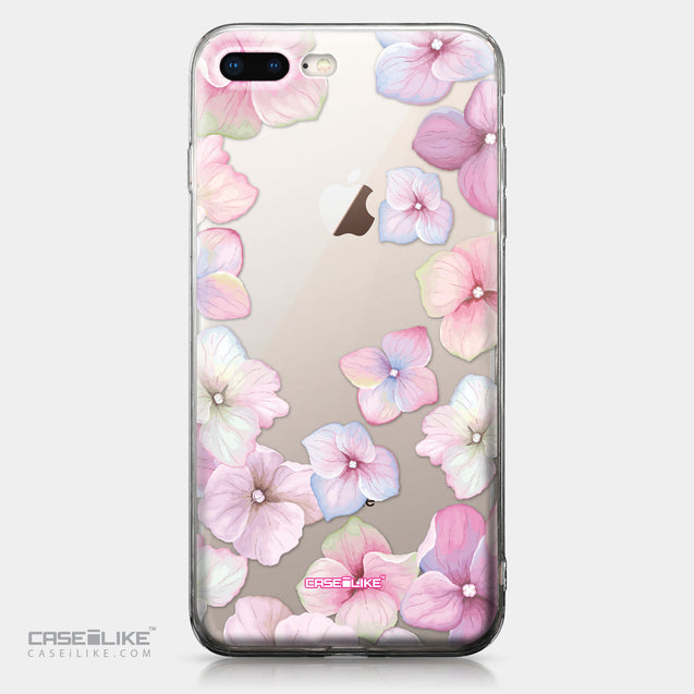 Apple iPhone 8 Plus case Hydrangea 2257 | CASEiLIKE.com