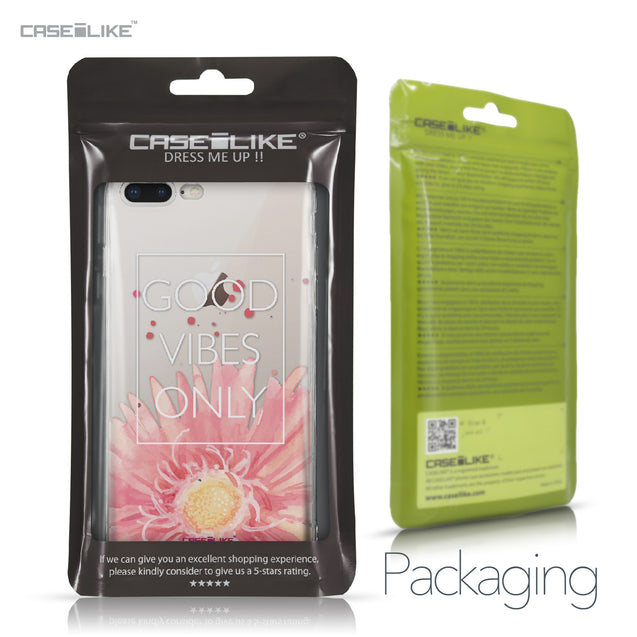 Apple iPhone 8 Plus case Gerbera 2258 Retail Packaging | CASEiLIKE.com
