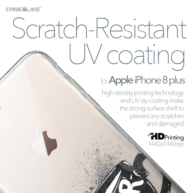Apple iPhone 8 Plus case Quote 2402 with UV-Coating Scratch-Resistant Case | CASEiLIKE.com
