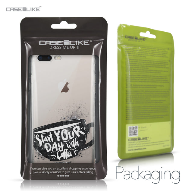 Apple iPhone 8 Plus case Quote 2402 Retail Packaging | CASEiLIKE.com