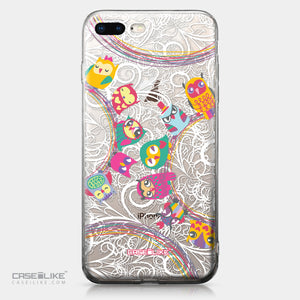Apple iPhone 8 Plus case Owl Graphic Design 3316 | CASEiLIKE.com