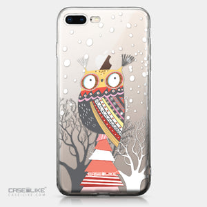 Apple iPhone 8 Plus case Owl Graphic Design 3317 | CASEiLIKE.com