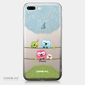 Apple iPhone 8 Plus case Owl Graphic Design 3318 | CASEiLIKE.com