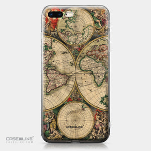 Apple iPhone 8 Plus case World Map Vintage 4607 | CASEiLIKE.com