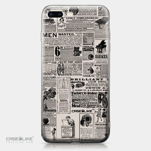 Apple iPhone 8 Plus case Vintage Newspaper Advertising 4818 | CASEiLIKE.com