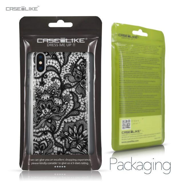 Apple iPhone X case Lace 2037 Retail Packaging | CASEiLIKE.com