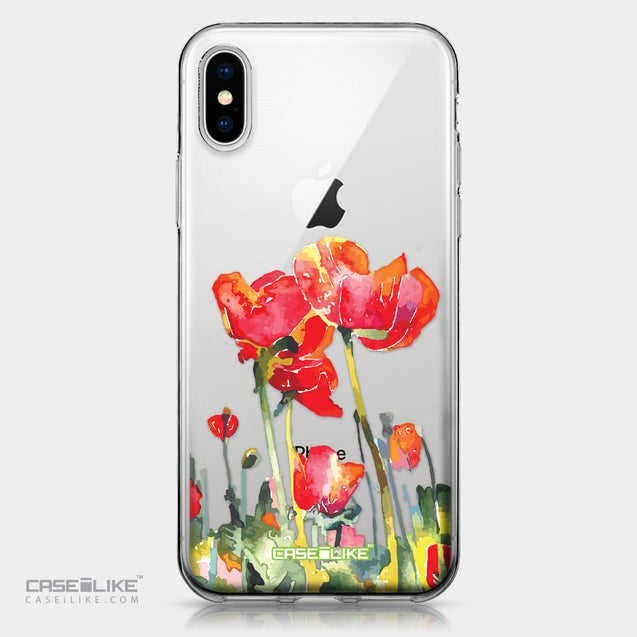 Apple iPhone X case Watercolor Floral 2230 | CASEiLIKE.com