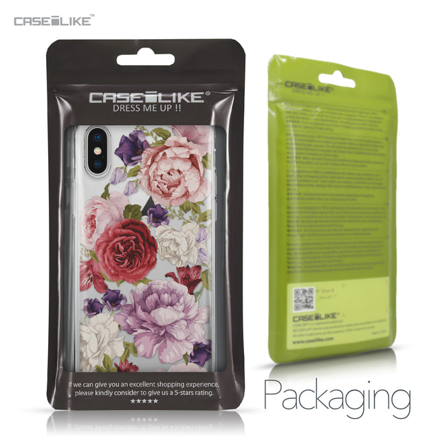 Apple iPhone X case Mixed Roses 2259 Retail Packaging | CASEiLIKE.com