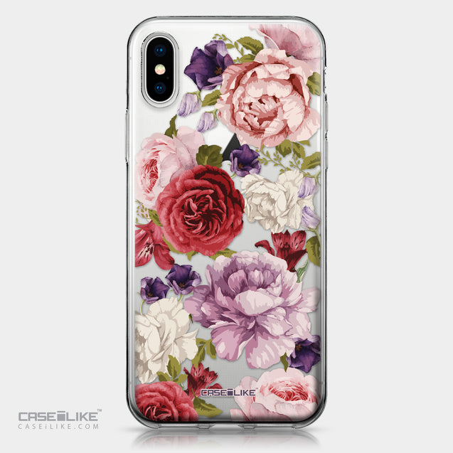 Apple iPhone X case Mixed Roses 2259 | CASEiLIKE.com