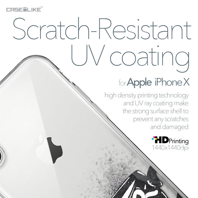 Apple iPhone X case Quote 2402 with UV-Coating Scratch-Resistant Case | CASEiLIKE.com