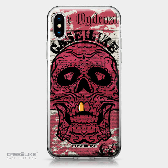 Apple iPhone X case Art of Skull 2523 | CASEiLIKE.com