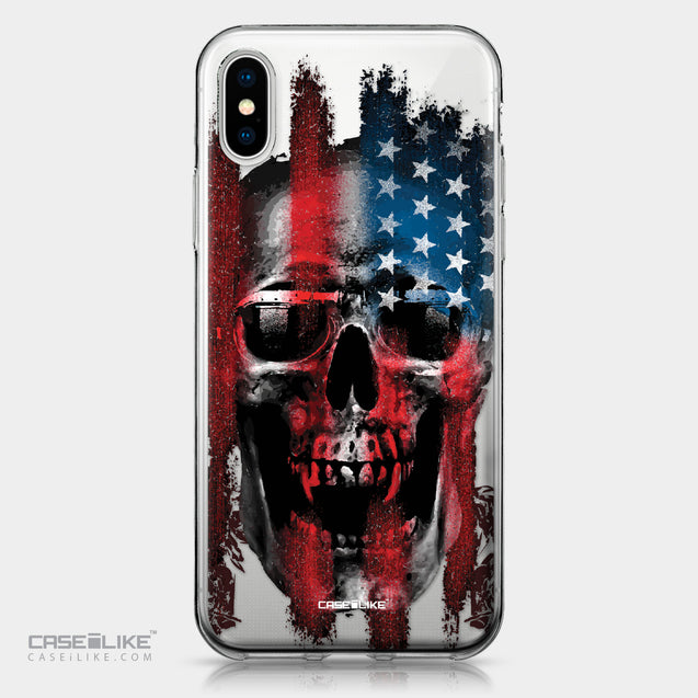 Apple iPhone X case Art of Skull 2532 | CASEiLIKE.com