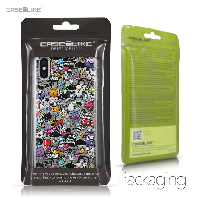 Apple iPhone X case Graffiti 2703 Retail Packaging | CASEiLIKE.com