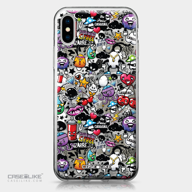 Apple iPhone X case Graffiti 2703 | CASEiLIKE.com