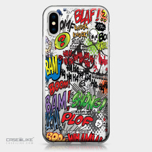 Apple iPhone X case Comic Captions 2914 | CASEiLIKE.com