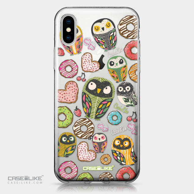 Apple iPhone X case Owl Graphic Design 3315 | CASEiLIKE.com