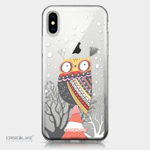 Apple iPhone X case Owl Graphic Design 3317 | CASEiLIKE.com