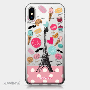 Apple iPhone X case Paris Holiday 3904 | CASEiLIKE.com