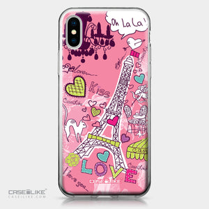 Apple iPhone X case Paris Holiday 3905 | CASEiLIKE.com