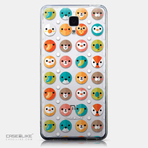 CASEiLIKE Xiaomi Mi 4 back cover Animal Cartoon 3638