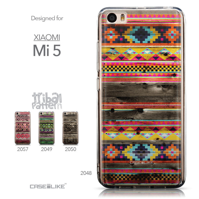 Collection - CASEiLIKE Xiaomi Mi 5 back cover Indian Tribal Theme Pattern 2048