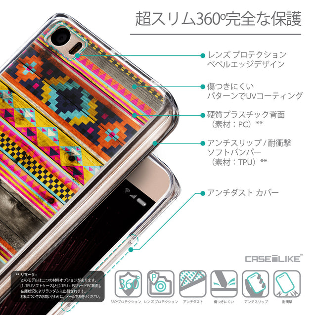 Details in Japanese - CASEiLIKE Xiaomi Mi 5 back cover Indian Tribal Theme Pattern 2048