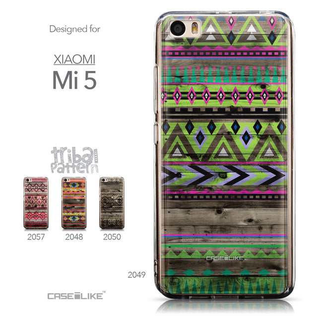 Collection - CASEiLIKE Xiaomi Mi 5 back cover Indian Tribal Theme Pattern 2049