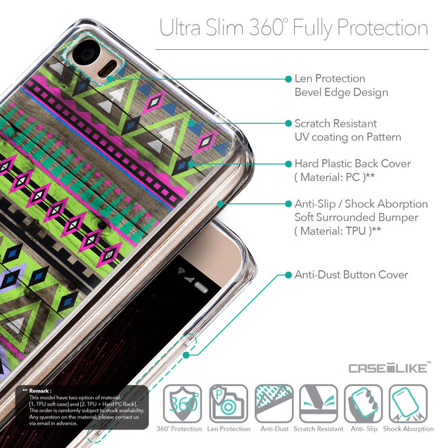 Details in English - CASEiLIKE Xiaomi Mi 5 back cover Indian Tribal Theme Pattern 2049