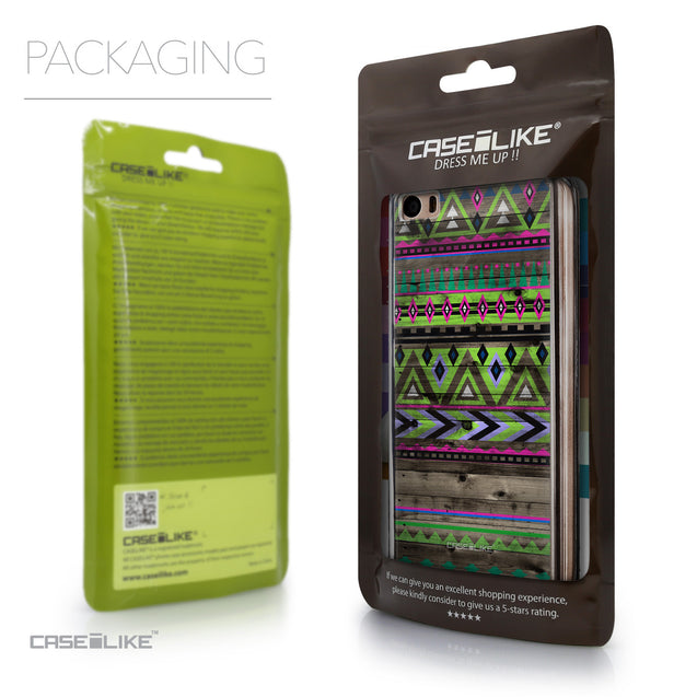 Packaging - CASEiLIKE Xiaomi Mi 5 back cover Indian Tribal Theme Pattern 2049