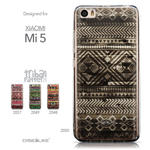 Collection - CASEiLIKE Xiaomi Mi 5 back cover Indian Tribal Theme Pattern 2050