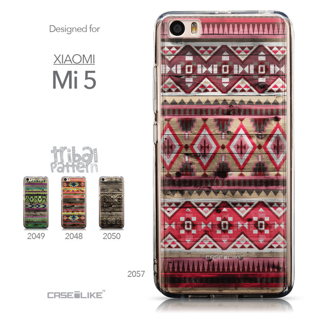 Collection - CASEiLIKE Xiaomi Mi 5 back cover Indian Tribal Theme Pattern 2057