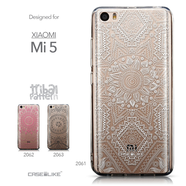Collection - CASEiLIKE Xiaomi Mi 5 back cover Indian Line Art 2061