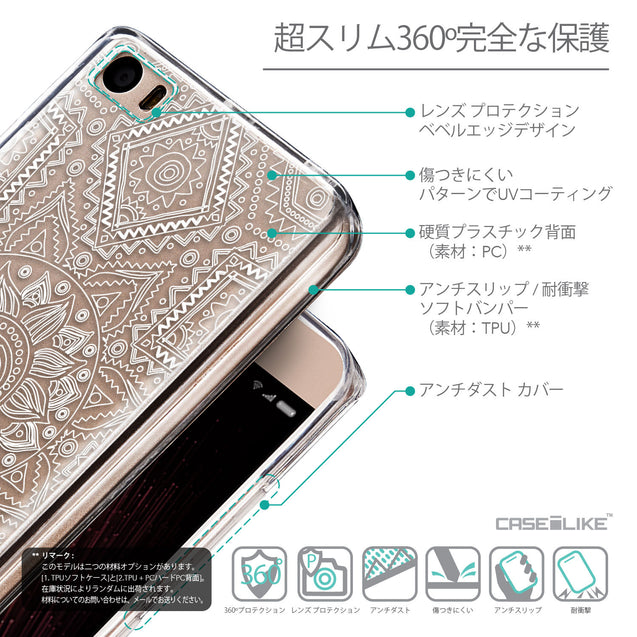 Details in Japanese - CASEiLIKE Xiaomi Mi 5 back cover Indian Line Art 2061