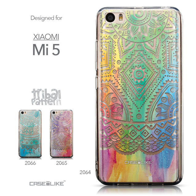Collection - CASEiLIKE Xiaomi Mi 5 back cover Indian Line Art 2064