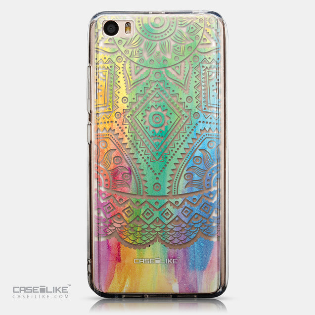 CASEiLIKE Xiaomi Mi 5 back cover Indian Line Art 2064