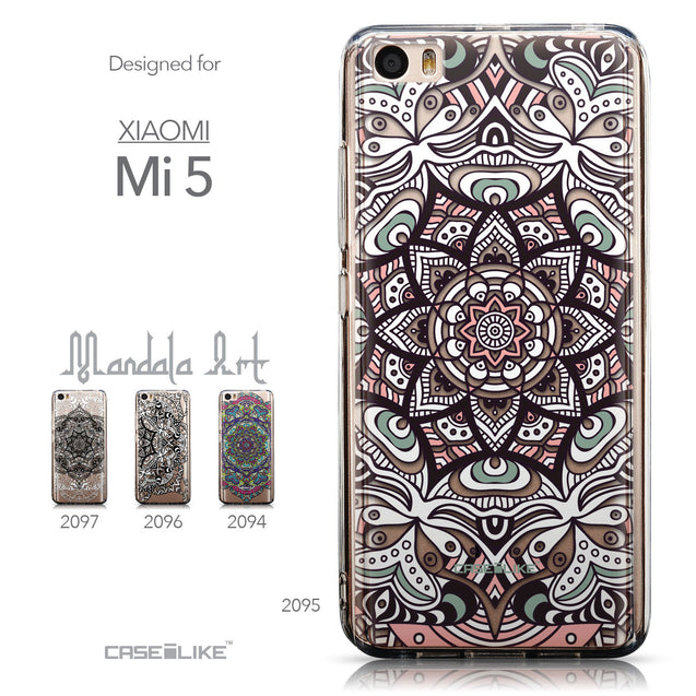 Collection - CASEiLIKE Xiaomi Mi 5 back cover Mandala Art 2095