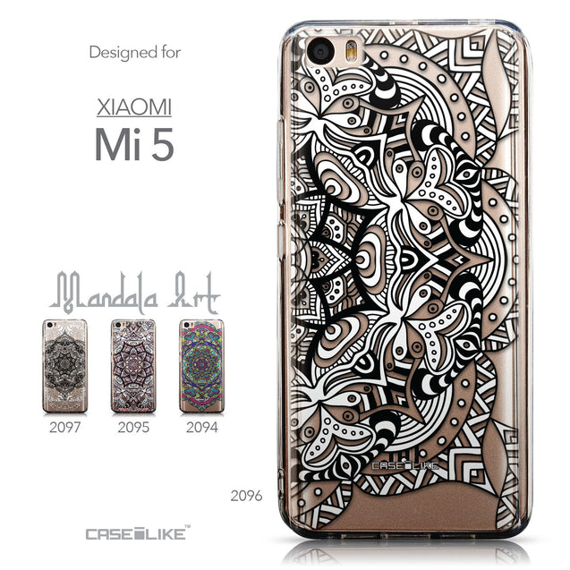 Collection - CASEiLIKE Xiaomi Mi 5 back cover Mandala Art 2096
