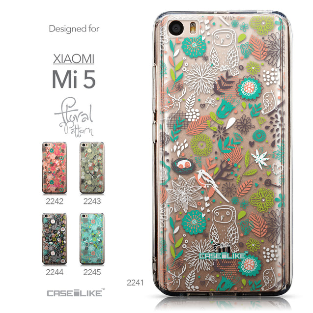 Collection - CASEiLIKE Xiaomi Mi 5 back cover Spring Forest White 2241