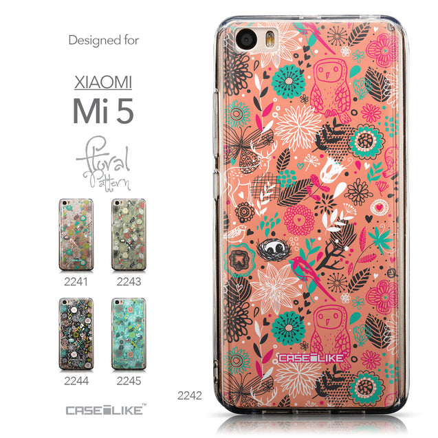 Collection - CASEiLIKE Xiaomi Mi 5 back cover Spring Forest Pink 2242