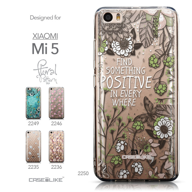 Collection - CASEiLIKE Xiaomi Mi 5 back cover Blooming Flowers 2250