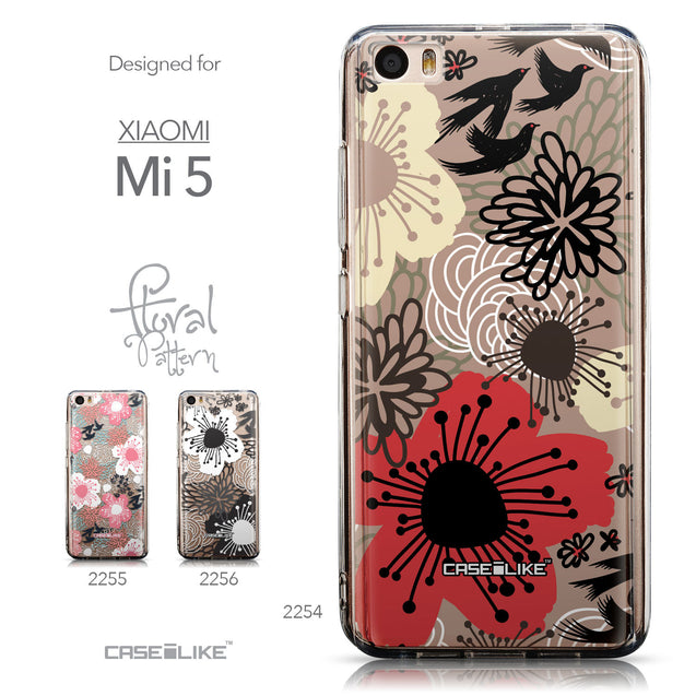 Collection - CASEiLIKE Xiaomi Mi 5 back cover Japanese Floral 2254