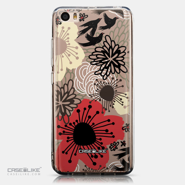 CASEiLIKE Xiaomi Mi 5 back cover Japanese Floral 2254