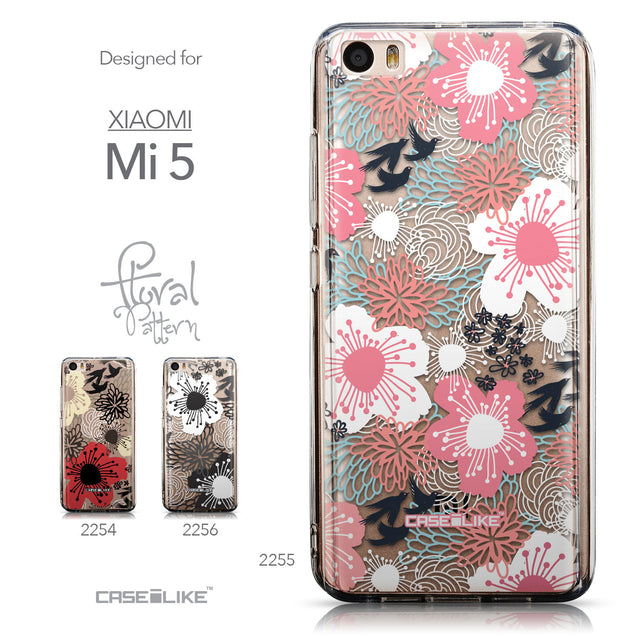 Collection - CASEiLIKE Xiaomi Mi 5 back cover Japanese Floral 2255