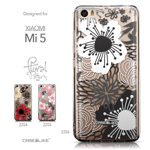 Collection - CASEiLIKE Xiaomi Mi 5 back cover Japanese Floral 2256