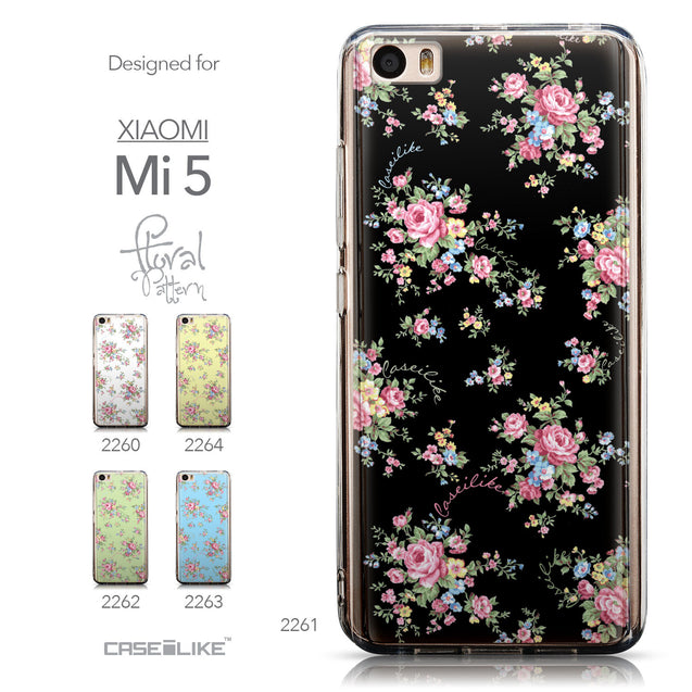 Collection - CASEiLIKE Xiaomi Mi 5 back cover Floral Rose Classic 2261