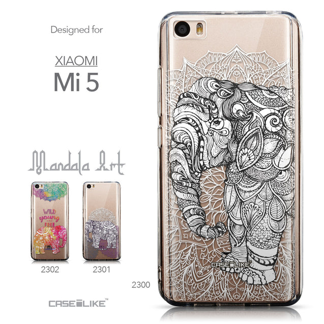 Collection - CASEiLIKE Xiaomi Mi 5 back cover Mandala Art 2300