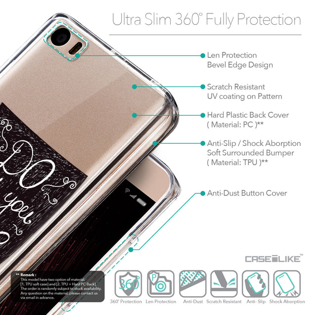 Details in English - CASEiLIKE Xiaomi Mi 5 back cover Quote 2400